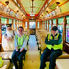 The Motormen on the trolley