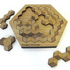 Hexagon 10 Puzzle by Dave Janelle at Smith Galleries_9008398420_o