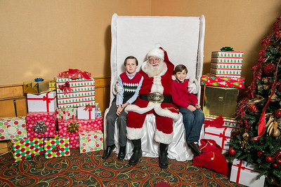 2016 Holiday Party Santa Photos