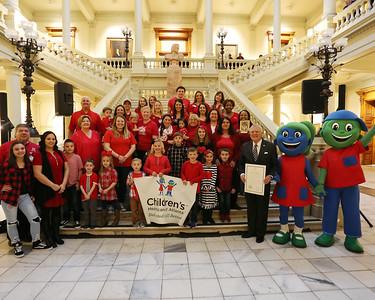 CHD Awareness at GA state Capitol  2018