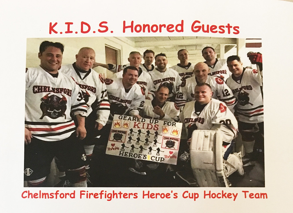 . The Chelmsford Heroes Cup hockey team