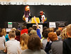 HOLLY PELCZYNSKI - BENNINGTON BANNER Kids on the Block - Vermont ( KOBVT) teach students how to put a stop to bullying and understand learning differences and how to accept others on Monday at Fisher elementary School.
