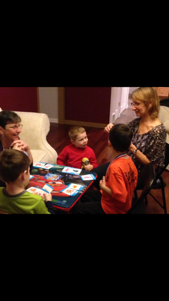 Kids with Grandma