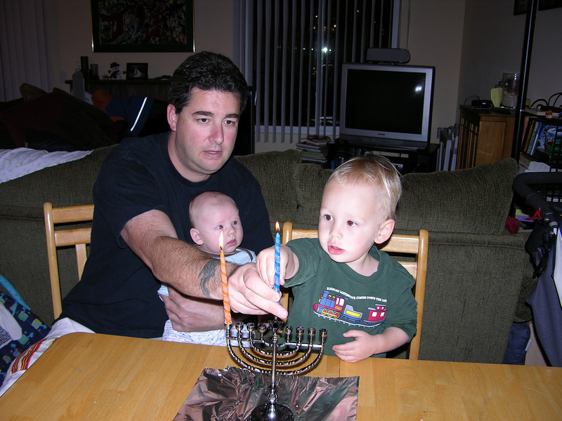1st night of Hanukkah