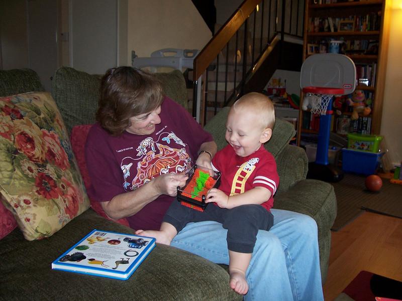 Playing with Grandma Sue
