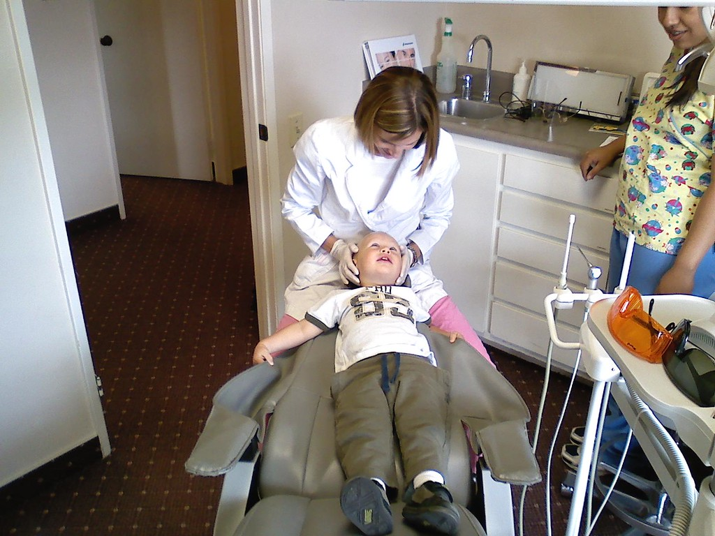 1st check-up at the dentist