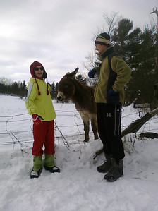 At Catamount during Christmas 2010. (Mike's phone picture)
