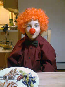 Clown. (cell phone picture)