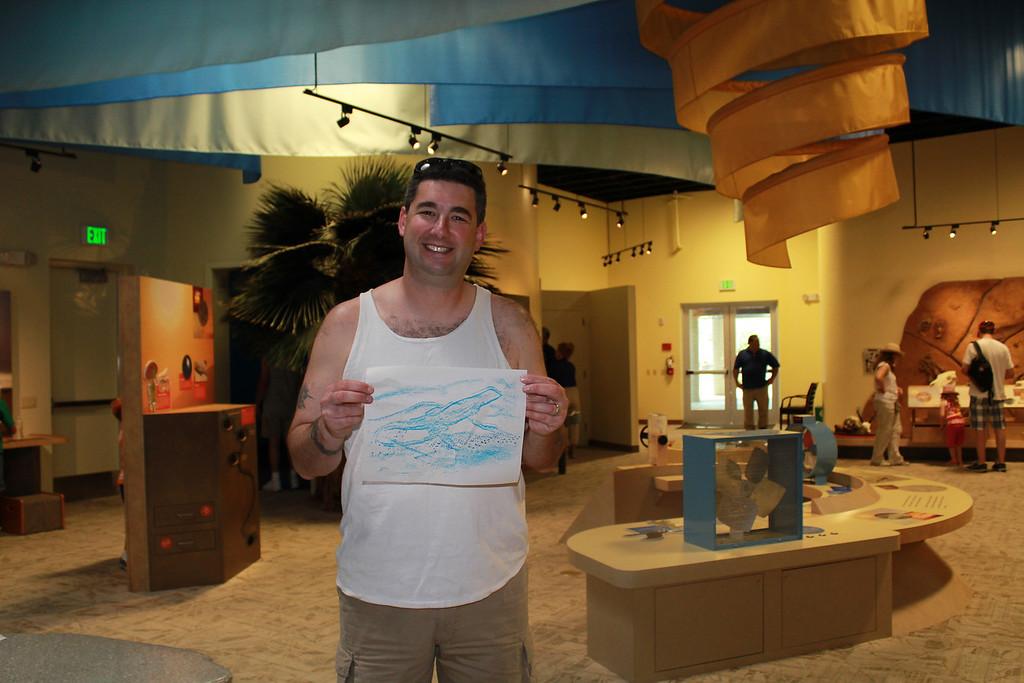 Ryan's art - we are very proud of him!