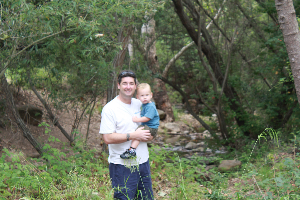 Took the boys for a hike on the San Antonio Creek Trail.