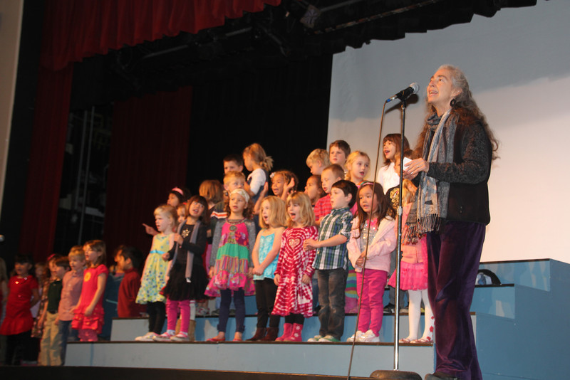 Sam's Winter Chorus production