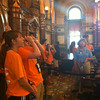 Touring the Kansas State Capitol.