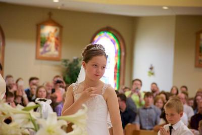 Jenna's First Communion