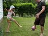 Backyard Soccer with Bedrich & Katys