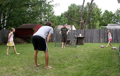 Backyard Soccer with Bedrich & Katys