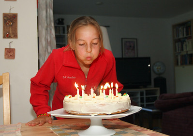 Anna's 12th birthday.