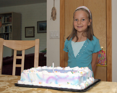 Anna's 8th birthday.