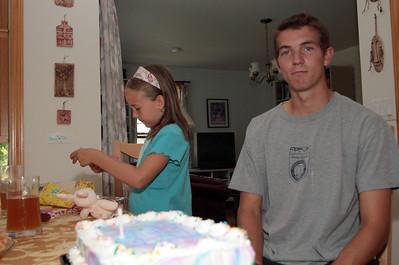 Anna's 8th birthday.