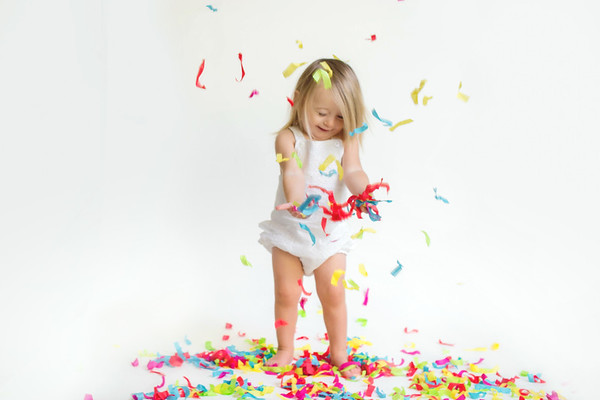 Confetti Session -OHMGPHOTO.com | Oceanside Children's & Family Photographer