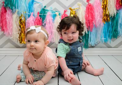 Duprest Twins-Nine month session