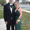 Jacob and Christina ready to attend prom in Fowler