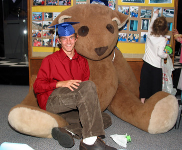 Hugga Bear Graduation Ceremony.