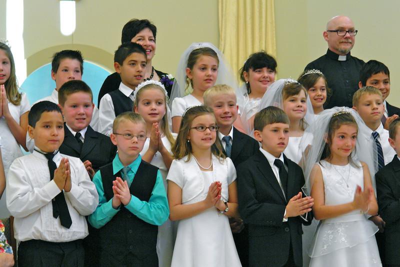 HFE First Communion class - 5