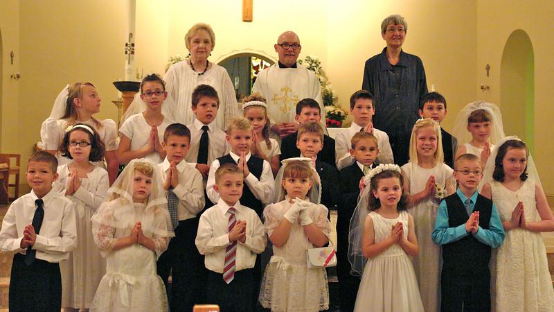 Maggie's First Communion - 09