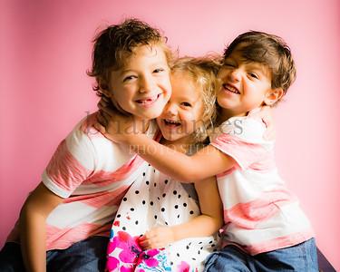 Michael, Mateo and Paulina