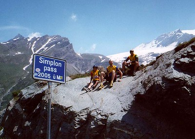 Simplon Pass.