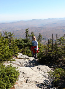 Hike with Anna to the top of Mt. Abraham, Vermont, 4017 ft (1224 m).