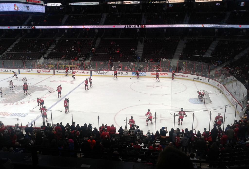 Hockey Game at Ottawa
