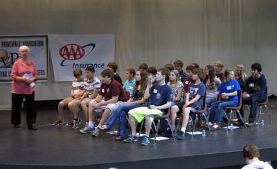 Team GeoBee 2012, State Round.