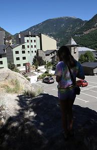 Day trip to Andorra la Vella, ride through the Pyrenees.