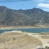 Passing Lake Isabella. We are now on Highway 155, going toward Kernville.