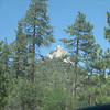 Our First view of Sentinel Peak, a Camp Whitsett landmark. We are on Forest Route 22S82.