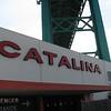 The Catalina terminal under the Vincent Thomas Bridge, San Pedro.