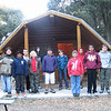 The boys in front of cabin 3, one of the 2 cabins they shared.<br /> L-R: Michael, Noel, Jon, David, Adam (T660), Long, Joseph, Steven, Ian, Brandon, and Erik.