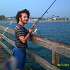 Fishing at Seal Beach Pier. The timestamp is wrong;  should be 8/27/2015, at about 6:00 PM.