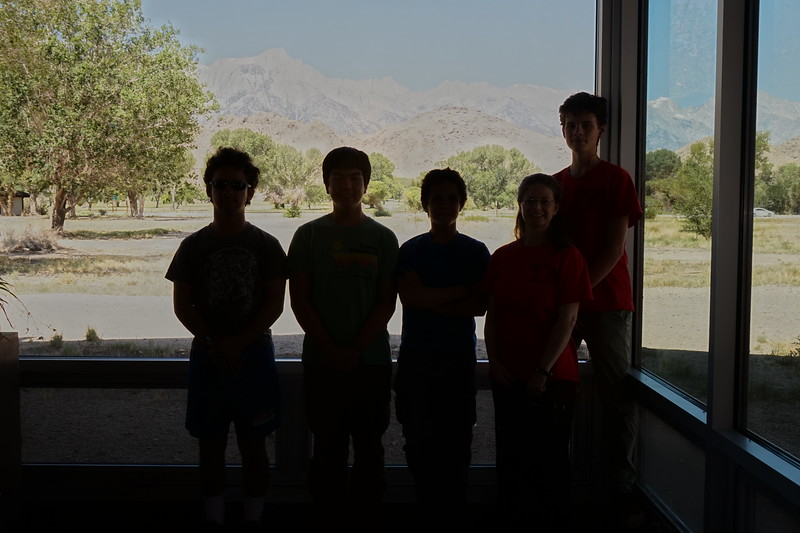We arrived in Lone Pine at 10:20 on 6/22/16, and went straight to the Interagency Visitors Center to pick up our permits.