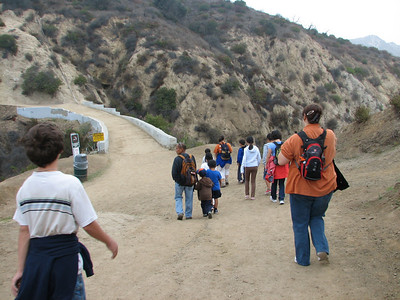 Mt. Hollywood Cub Scout hike