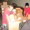 Ian and Justin hard at work.