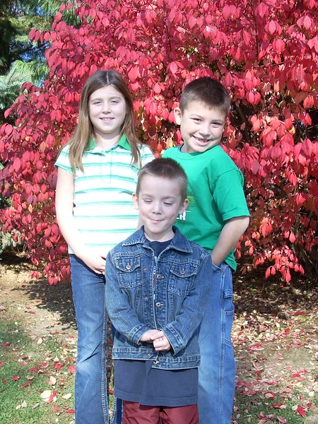 Cassie, CJ & Kyle Speros  Fall 2008