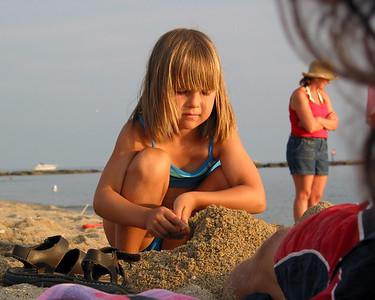 Hammonasset State Park beach.