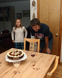 B-day cake.