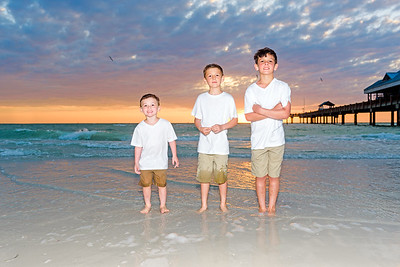 Siblings..Family Portraits on Clearwater Beach