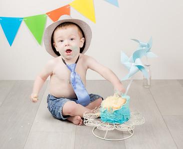 Nathan's 1st BDay Cake Smash!