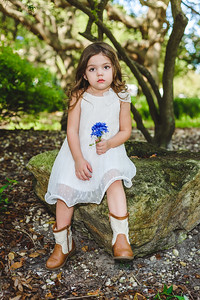 Little Lady Portrait at Largo Central Park