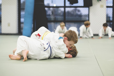 Kids Love training at Revolution MMA in Benton, AR