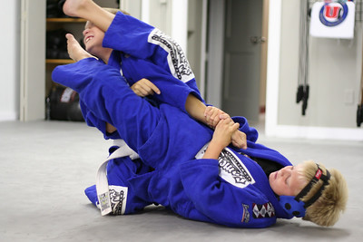 John and Jake Grappling.